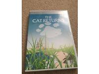 The Cat Returns DVD - Studio Ghibli