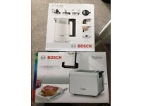 Bosch Kettle & Toaster - White color - Styline range , nearly new