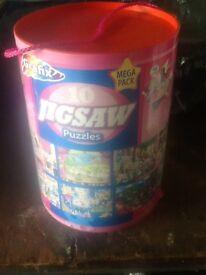 10 jigsaw puzzles