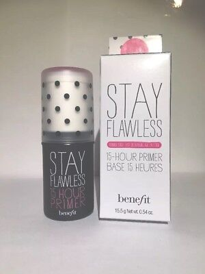 Benefit Cosmetics Stay Flawless 15 Hour Primer~FULL SIZE~0.54 Oz. BRAND NEW!