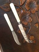 PAIR OF CHEESE KNIVES Richardson Tuggeranong Preview