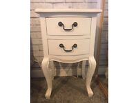 WHITE FRENCH STYLE BEDROOM FURNITURE - SOLID WOOD