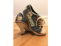 Sporty High Heels, Size 4.5