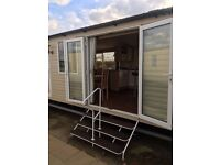 Large deluxe 3 bed 8 berth prestige holiday home with available for bank holiday weekend £249