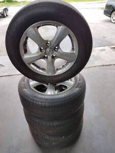 16 Inch AMG Alloy Wheels And Tyres Suit VE VF Commodore Bayswater Bayswater Area Preview
