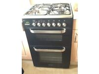 Kenwood CK231DF double oven dual fuel cooker. One year old