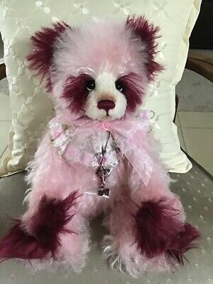 Charlie Bears SUMMER PUDDING 2020 Isabelle Mohair Collection 15.5