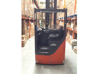 VGC Fully Working Linde R20P Forklift 2 Tonne Electric Battery Operated, Shaft can reach 13M High