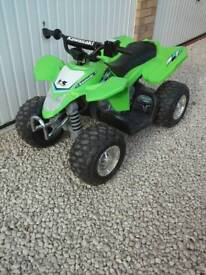 Childs battery powered quad
