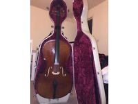 Cello with case included