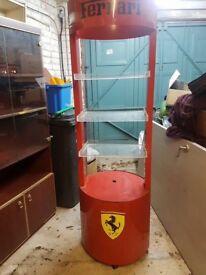 Ferrari Unit/stand for garage or games room!