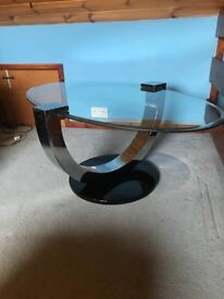 Brand new glass Coffee Table