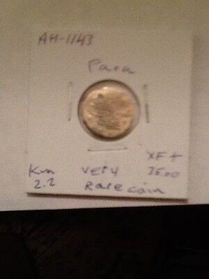 Turkey Ottoman Coin Sultan Mahmud-1.  Ah-1143-   Para