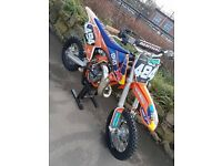 ktm sx 65 2016 mint condition £2499