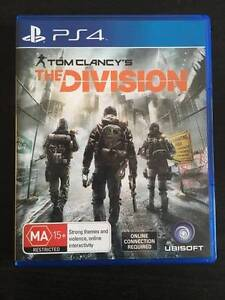 THE DIVISION PS4 EXCELLENT CONDITION Northgate Port Adelaide Area Preview