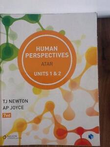 Human Perspectives ATAR Units 1 & 2 Mosman Park Cottesloe Area Preview