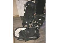 Britax complete travel system little used before swapping to double buggy