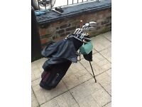 Howsen 1/2 golf set +tripod bag+ Accessories