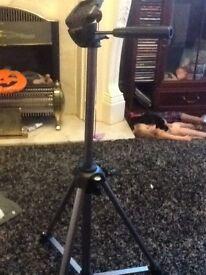 Video camera tripod