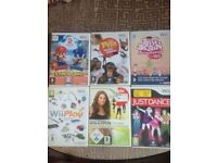 Selection of Wii games
