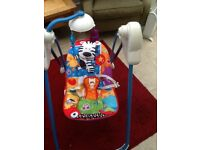 Fisher Price Jungle Swing 0-6mths