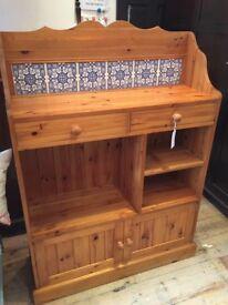 Pine Kitchen Unit - Dresser.