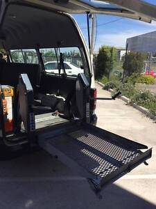 1998 TOYOTA HIACE COMMUTER BUS WITH DISABLED WHEEL CHAIR LIFT! Craigieburn Hume Area Preview