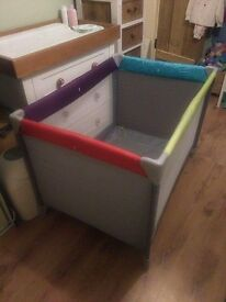 Travel Cot Mothercare