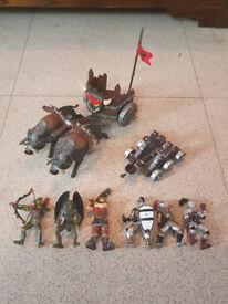 Wooden Castle Toys ELC Tower Of Doom and Dungen Of Doom + figures