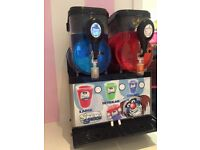 Slush machines for spates or repair