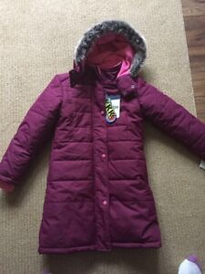 Size 7 winter coat with tags