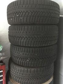 Continental wintercontact TS850P 205/45/17 88V winter tyres