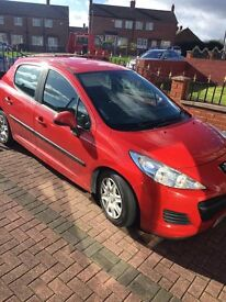Peugeot 207 1.4 Diesel 1 Previous Owner Low Mileage Only 85k £30 Road Tax For Year ONLY £2295
