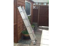 Loft ladders with attachment