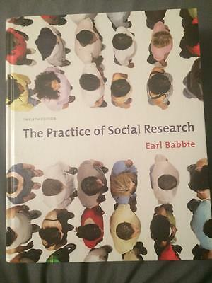 The Practice of Social Research by Earl Babbie (2009, 12th Edition, (The Practice Of Social Research 12th Edition)