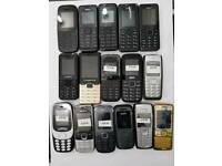 Nokia 105-108-1112-6300-E1200Y-Zanco Brand New, Unlocked, Mostly All Colours