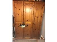 Wardrobe- £150, excellent condition. Selling due to me redecorating my room