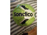Sondico Size 5 Light Green Football