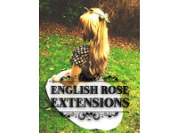 ~English Rose Extensions~ 100% human hair extensions in Birmingham city centre, Professional