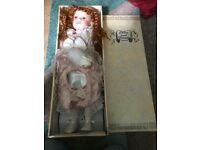 Chloe and friends porcelain doll