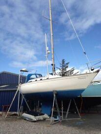 Carter 33 Sailing yacht