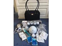 Philips Avent Isis IQ Double Twin Electronic Electric Breast Pump + Extras