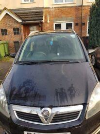 Vauxhall Zafira (black) 1.6 active