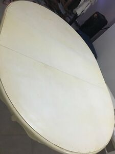 White Dining table Aberglasslyn Maitland Area Preview