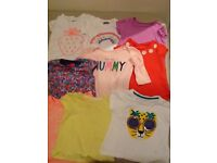 Bundle of girls clothes all seasons 12-18 months
