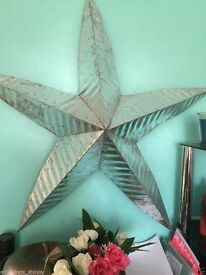 LARGE METAL STAR 110 CMS WIDE
