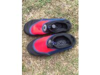 Wetsuit shoes Child size 1. Used 1 week only, excellent condition