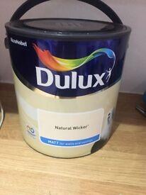 New Dulux 2.5 Litre Paint