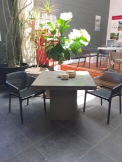 """""""The Eclipse"""" Lightweight concrete dining table"""
