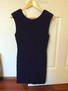 Navy Blue fitted dress Baulkham Hills The Hills District Preview